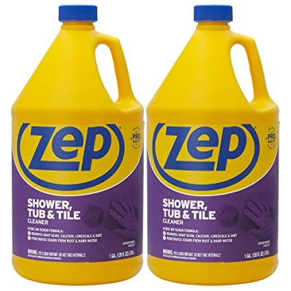 Zep Shower Tub and Tile Cleaner 128 ounce ZUSTT128 (case of 2)