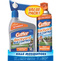 Cutter HG-65744 Backyard Bug Insect Control, 1 Count, Brown/A