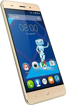 Haier Leisure L56 Smartphone 4 G, Quad-Core, Cámara de 13 MP, Dorado [Italia]: Amazon.es: Electrónica