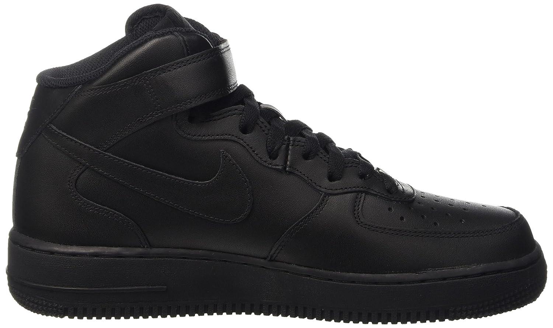 Nike Air Force 1 Mitad De Las Mujeres Negras yc2oW