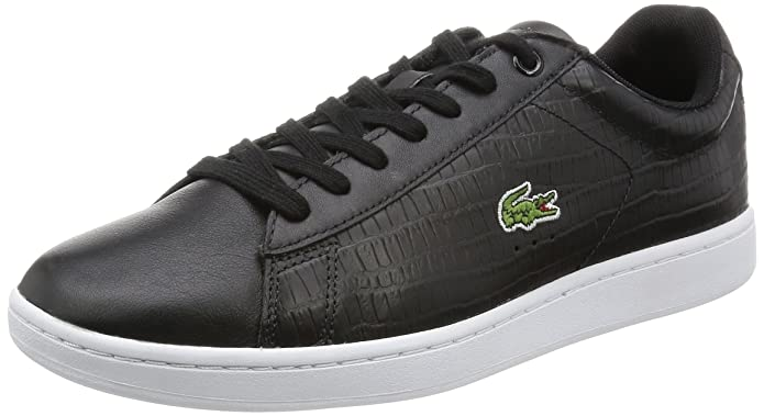 Lacoste Carnaby Evo G316 5, Sneakers Basses Homme - Noir - Noir (02H), Taille 43