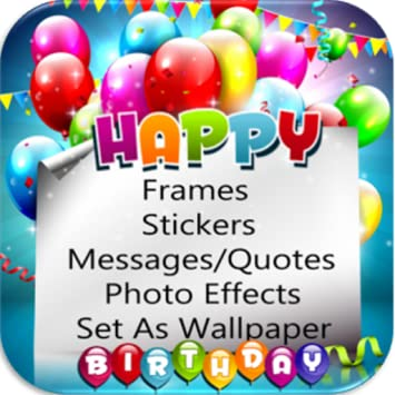 Amazoncom Birthday Frames Appstore For Android