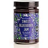 Sweet Blueberry Jam by Good Good - 12 oz / 330 g - Keto Friendly - No Added Sugar Blueberry Jam - Vegan - Gluten Free…
