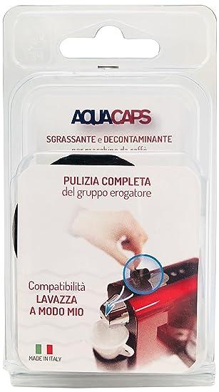 Aquasan 1318 Cápsulas pulenti para máquina de café Lavazza a Modo Mio, Negro, Juego de 2 piezas: Amazon.es: Bricolaje y herramientas