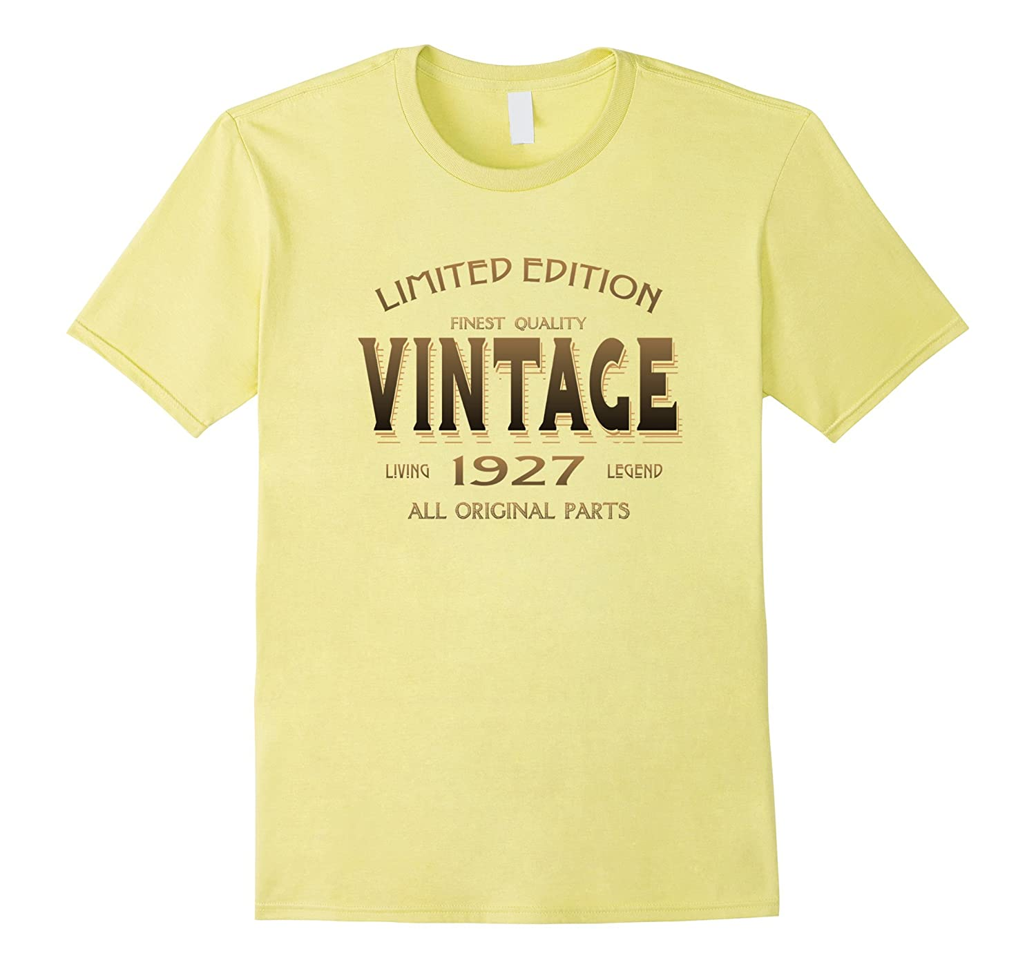 1927 T Shirt 90th Birthday Gift 90 Year Old B Day Present TD