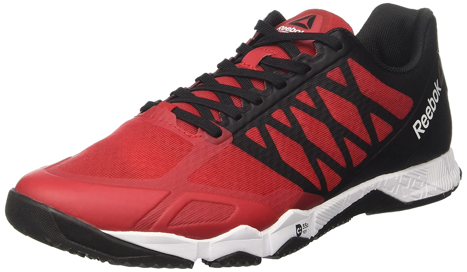 Reebok R Crossfit Speed TR, Zapatillas de Gimnasia para Hombre, Rojo (Excellent Red/Black / White/Pewter), 42 EU: Amazon.es: Zapatos y complementos