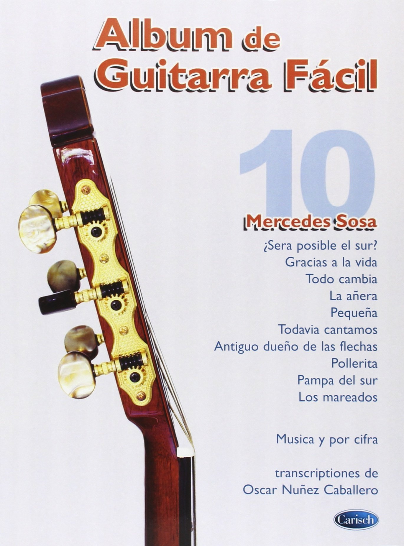 Album de Guitarra Fácil N.10 - Mercedes Sosa: Amazon.es: Aa.Vv ...