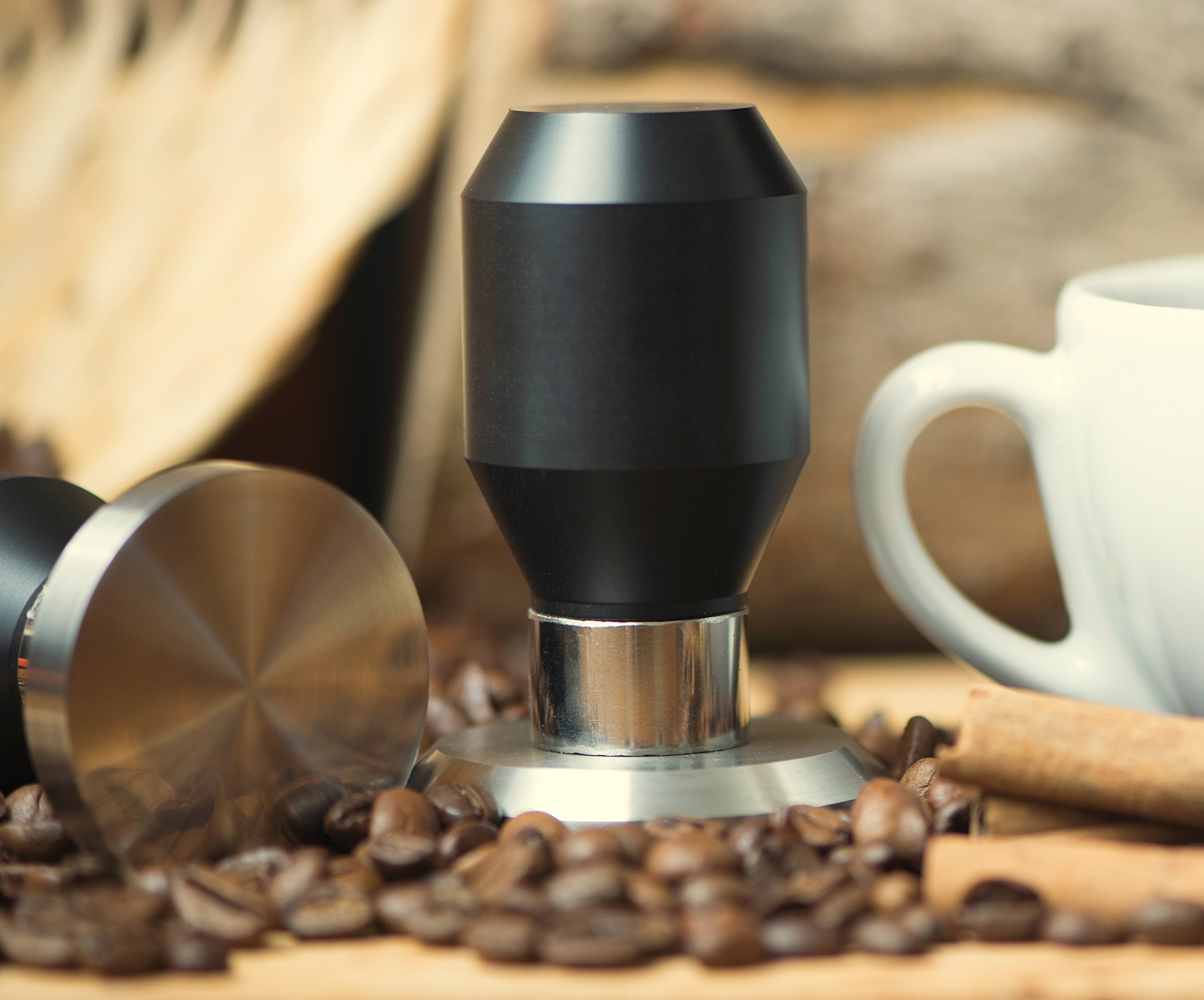 Premium Quality Coffee Espresso Tamper 100% Stainless Steel Base (58.35mm)