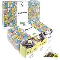 ☘️ Cofanetto TE BIO L'ESSENTIELLE ● Confezione Regalo ● Assortimento di 6 gusti diversi: Tè Verde, Earl Grey, Rooibos, Tè Bianco, in fogli ● 48 sacchi piramidali di alta qualità