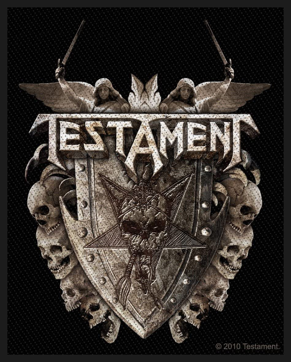 Testament Shield Aufn/äher Patch