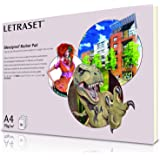 Letraset Bleedproof Marker Pad, 70 gsm, 50 Sheets - A4