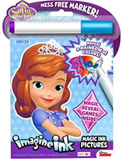 disney sofia the first imagine ink book - Imagine Ink Coloring Book