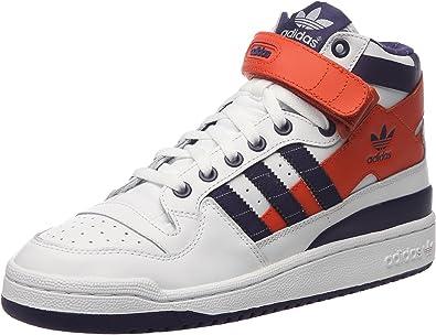 adidas Forum Mid RS - Zapatillas para Hombre Blanco White/Lilac 42 2/3: Amazon.es: Zapatos y complementos