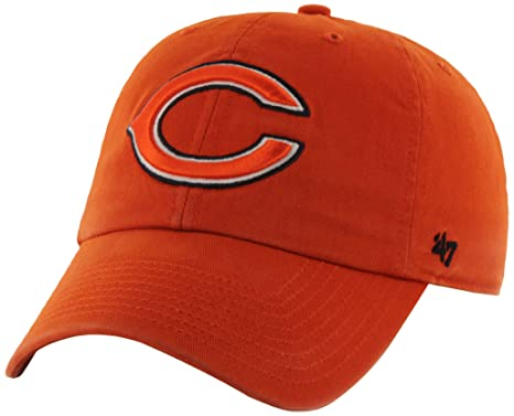 7367636163f Amazon.com   NFL Chicago Bears  47 Brand Clean Up Adjustable Hat ...