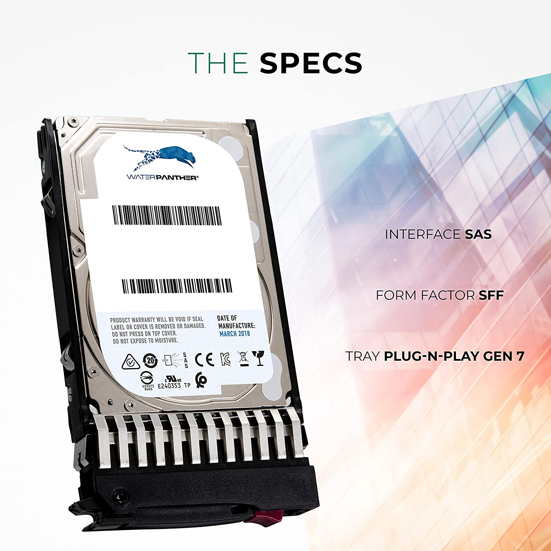 "1 Year Warranty New HP ProLiant DL580 G7 1TB 7.2K 6G SAS 2.5/"" Hard Drive"