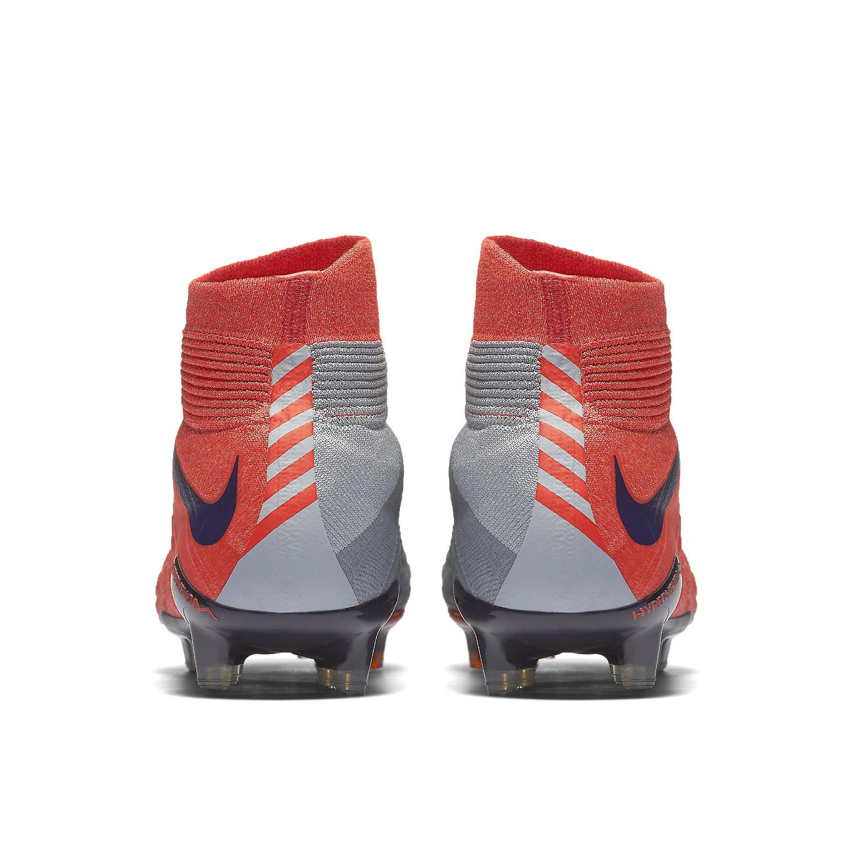 Nike Womens Hypervenom Phantom III Dynamic Fit FG Cleats [Wolf Grey] (8.5) by NIKE (Image #4)