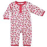 Yoga Sprout Baby Cotton Union Suit, Paisley, 3-6