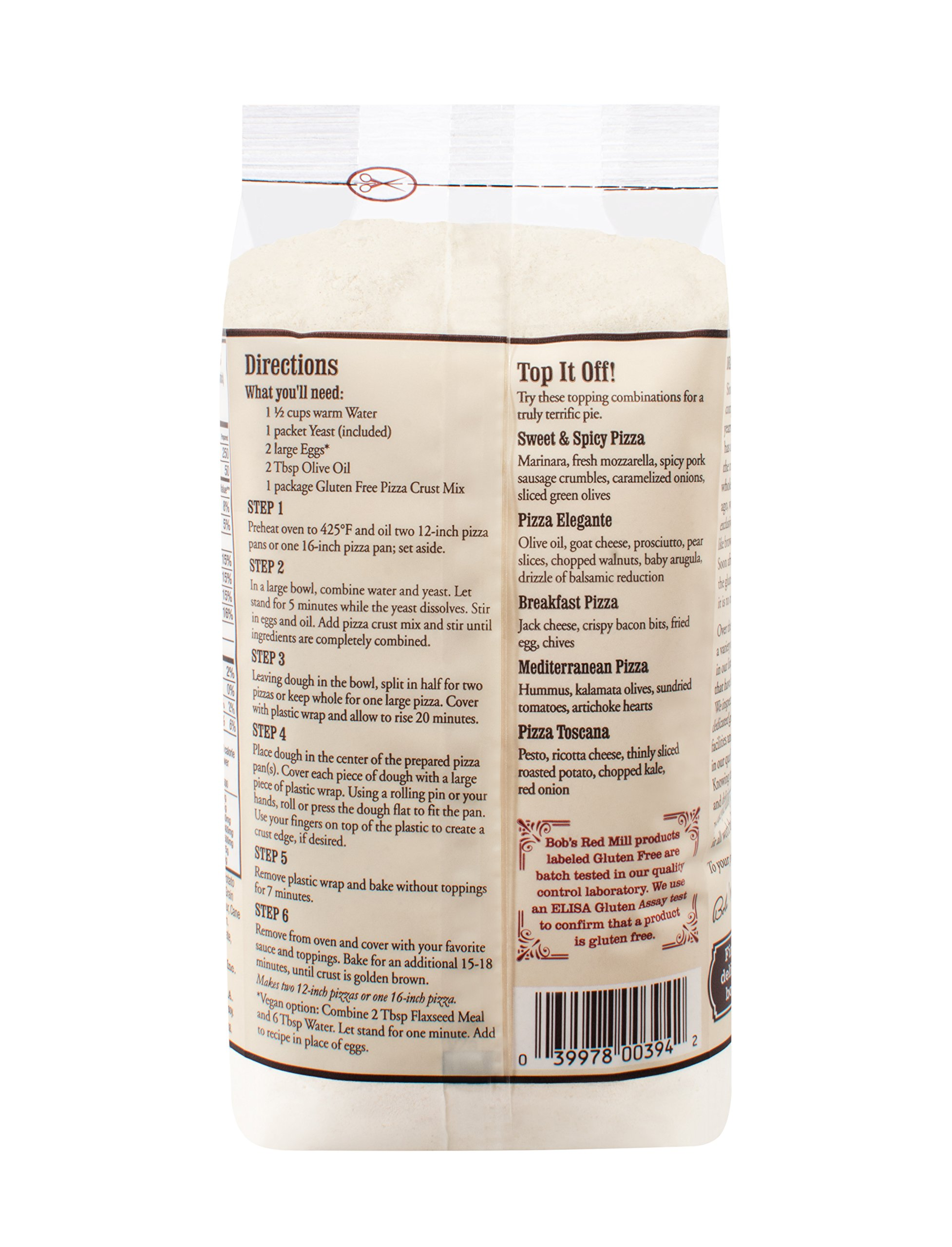 Gluten Free Pizza Crust Mix (16 Ounce) by Bob's Red Mill (Image #4)