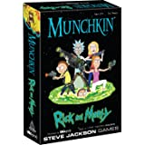 MUNCHKIN: Rick And Morty Card Game | Rick and Morty Adult Swim Munchkin Board Game | Officially Licensed Rick and Morty Merch