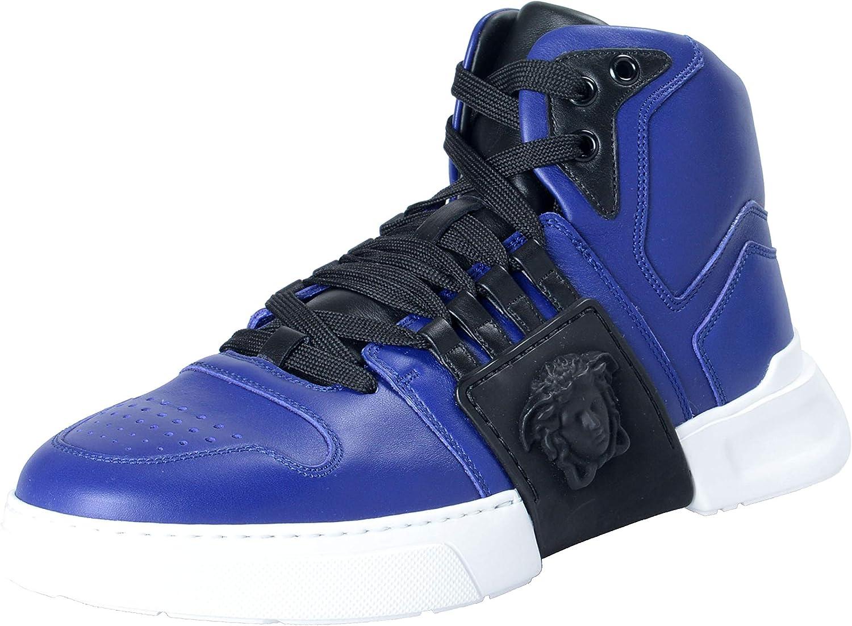 versace sneakers blue
