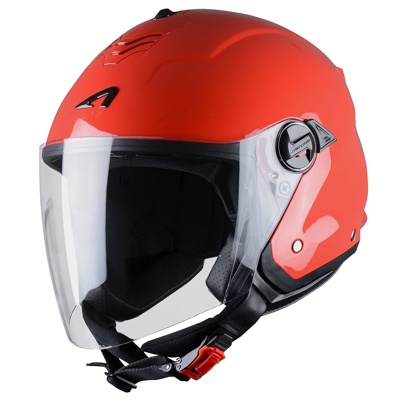 Astone Helmets MINIMS, LGL Mini Jet-Casco Jet, S, color Gris claro Astone Helmets Distribution MINIMS-LGL