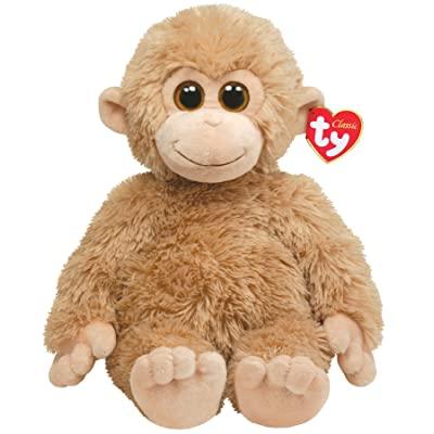 Ty Classic Plush Biscuit - Tan Monkey: Toys & Games