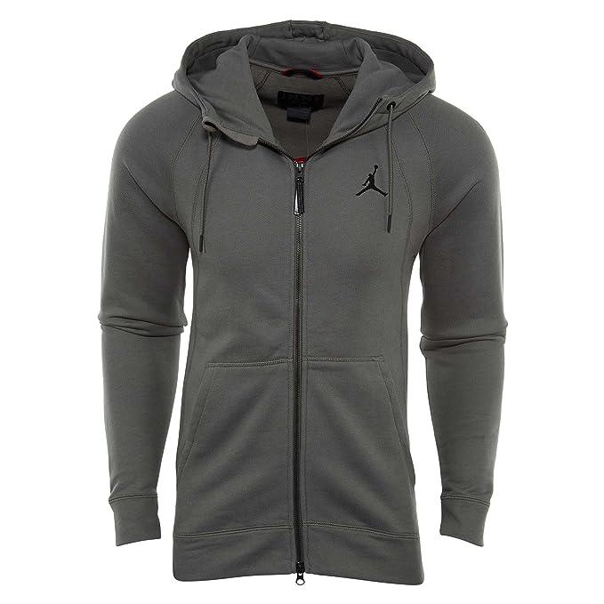 Jordan Sudadera Capucha Sportswear Wings Fleece Full-Zip Gris/Negro Talla: M (