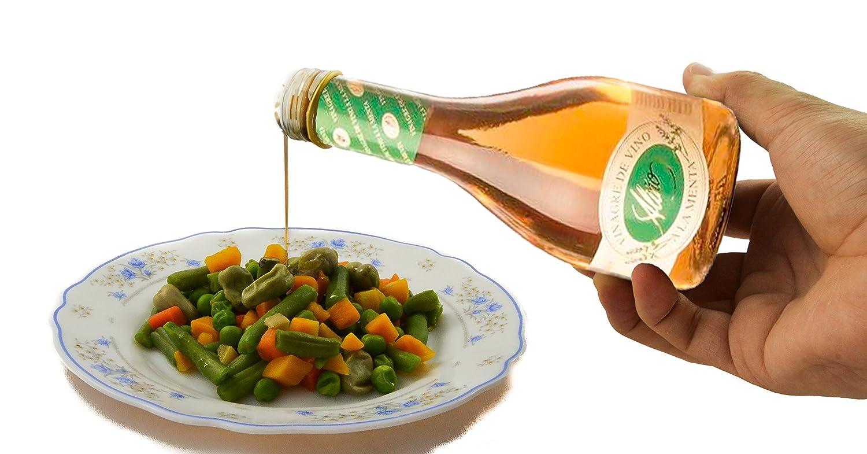 Vinagre de Menta Gourmet - 250 ml - Vinagre de España de Alta Calidad, Envejecido en Barrica de Roble - Gran Variedad de Ricos Sabores y Aromas Intensos ...