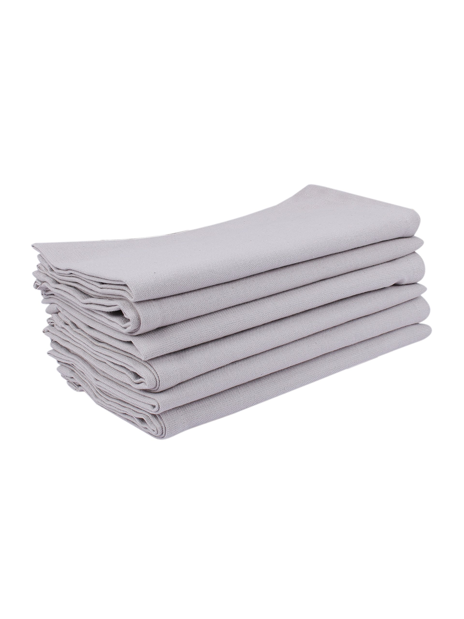 Villa Tranquil Napkins, set of 6, 100% cotton, Eco-Friendly and safe, beige color, for all homes, size 20''x20''.