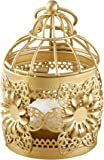 Kate Aspen 14125GD Floral Lantern, Gold