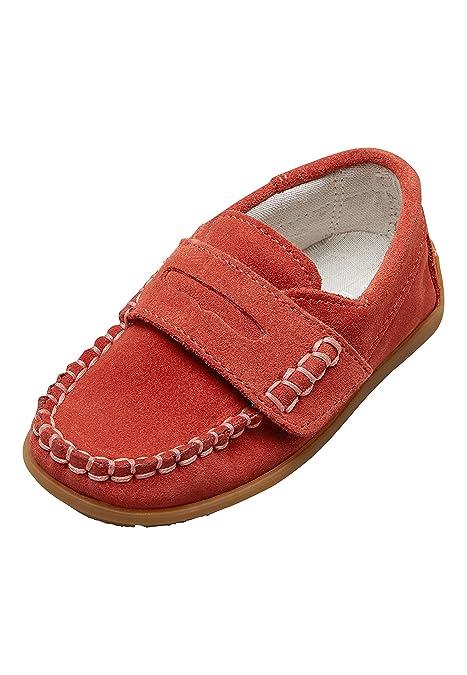 next Niños Mocasines De Cuero Penny (Niño Pequeño) Rojo EU 26.5 Rojo EU 26.5: Amazon.es: Zapatos y complementos