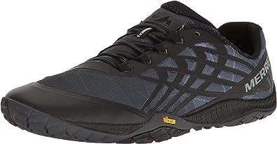 Merrell Trail Glove 4 Runner - Guantes para Hombre, Color Negro, Talla 46 EU: Amazon.es: Zapatos y complementos