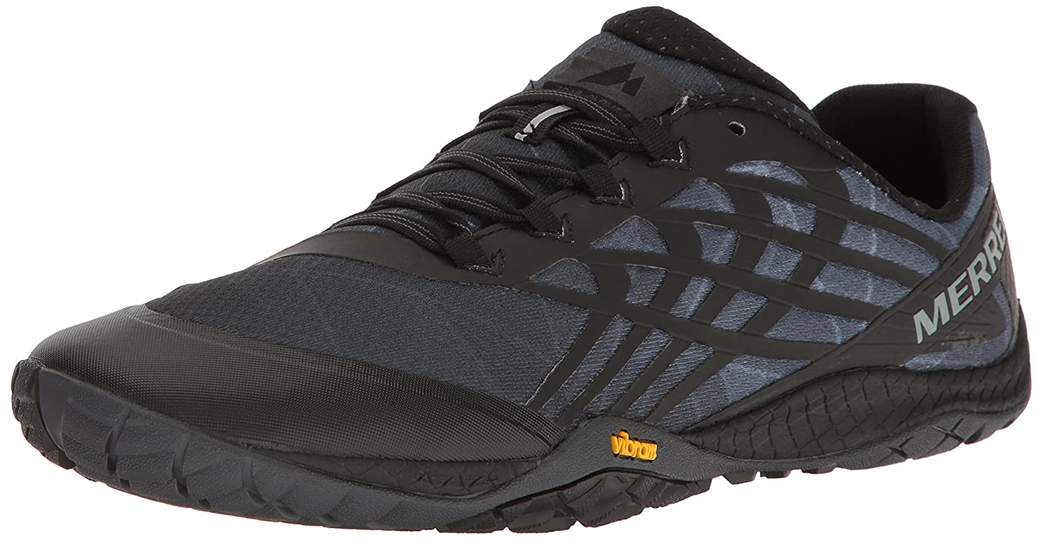 89ab3e11f33 Merrell Men's Glove 4 Trail Runner, Black, 12 M US: Buy Online at Low  Prices in India - Amazon.in