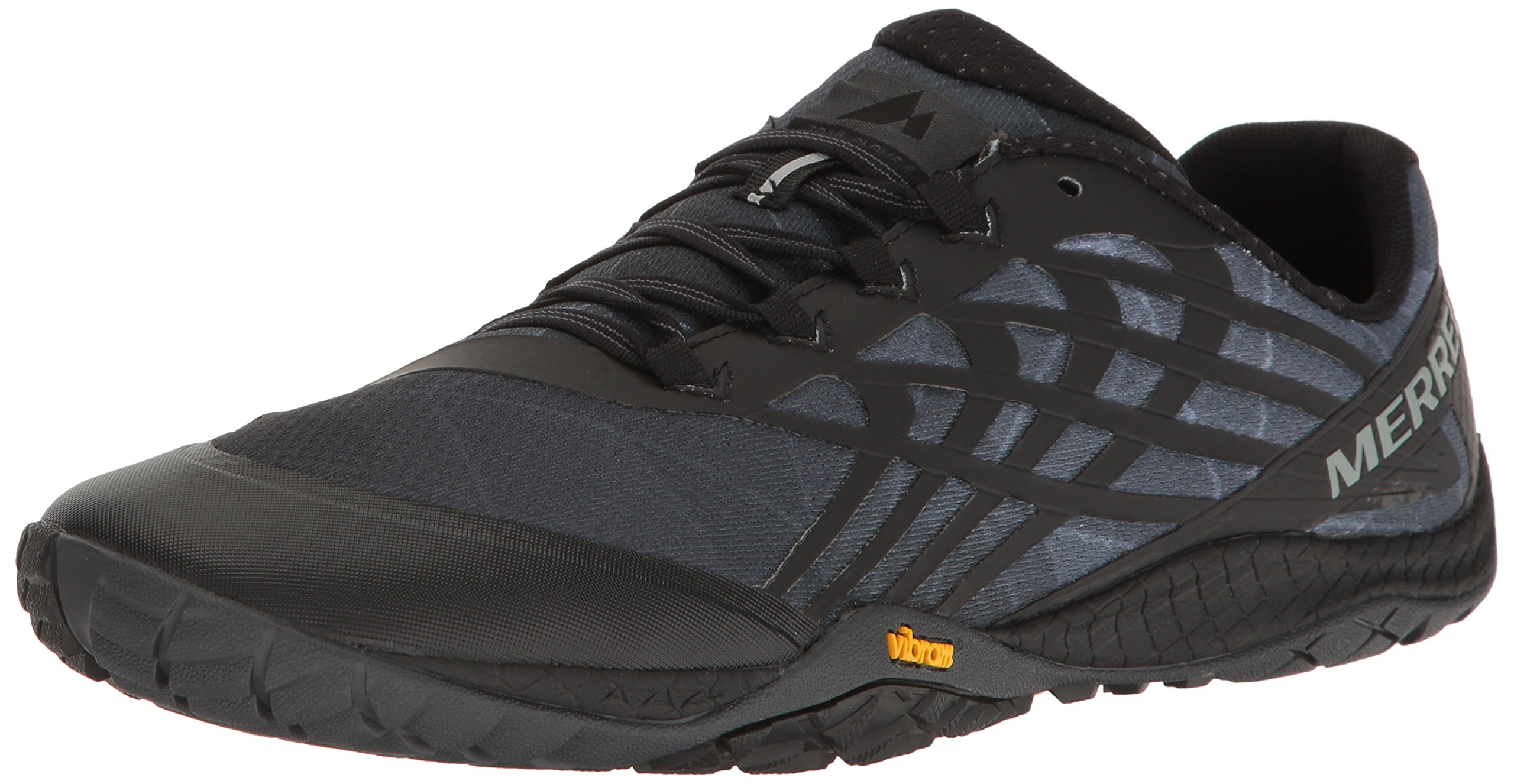 Merrell Men's Glove 4 Trail Runner, Black, 11.5 M US