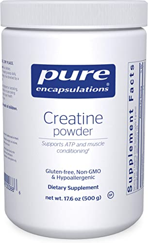 Pure Encapsulations – Creatine Powder – Hypoallergenic Strength and Conditioning Support Formula for Athletes – 17.6 Ounces