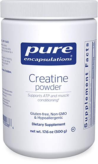 Pure Encapsulations - Creatine Powder - Hypoallergenic Strength and Conditioning Support Formula for Athletes* -