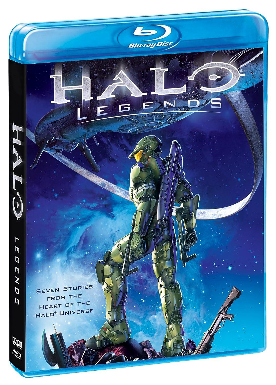 Amazon Com Halo Legends Blu Ray Various Various Movies Tv