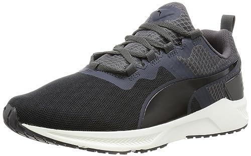 Puma Men s Ignite XT v2 Black and Asphalt Multisport Training Shoes - 10  UK India 1aad9364a