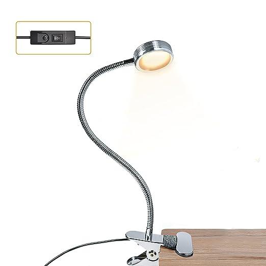 9 opinioni per Lampada da Lettura con Pinza,LUXJET® Luce da Lettura per Libro con Clip,USB