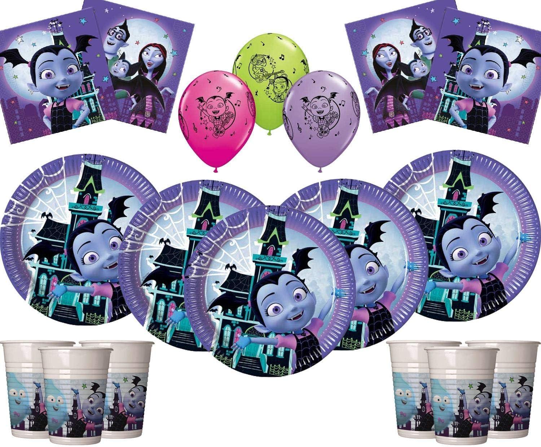 "10 X VAMPIRINA  12"" Latex Party Balloons Perfect Party Fun UK SELLER"