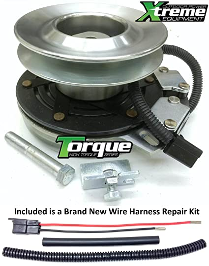 bundle - 2 items: pto electric blade clutch, wire harness repair kit  xtreme