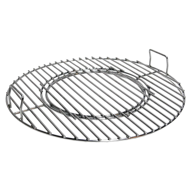 /Acero inoxidable Conejo Rill parrilla con wok Uso Para 57/cm Barbacoa/