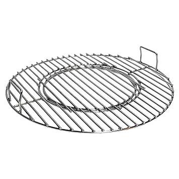 Conejo Rill parrilla con wok Uso Para 57 cm Barbacoa - Acero ...