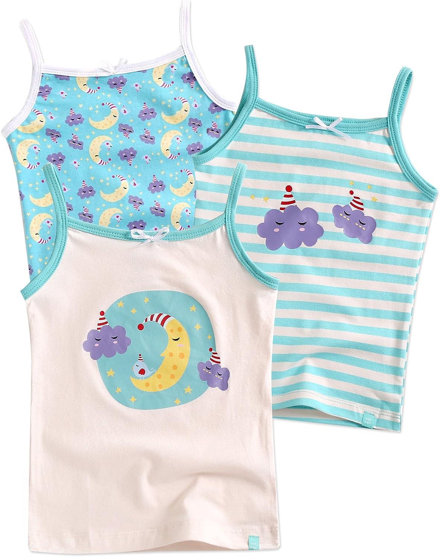 Vaenait Baby Kids Girls Cotton Undershirts Tank Tops Cami Sleeping M