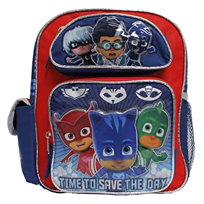 PJ Mask 12 inch Small Children School Backpack - Catboy Owlette Gekko Romeo | Kids' Backpacks