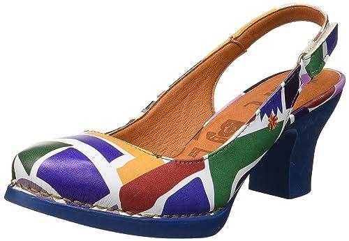 89587438 ART 1066f Fantasy Shapes/Harlem, Zapatos de tacón con Punta Cerrada para  Mujer: Amazon.es: Zapatos y complementos