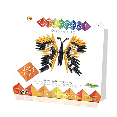 CreativaMente Creagami Butterfly, Multicoloured, 703: Toys & Games [5Bkhe2003069]