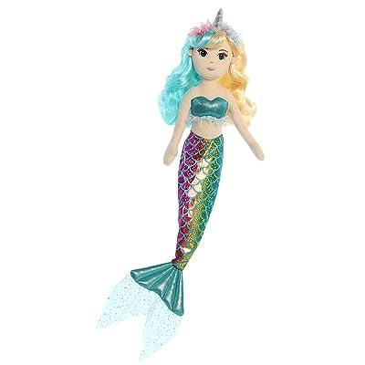 """Aurora - Sea Sparkles - 18"""" Rainbow Unicorn Sparkles - Candie: Toys & Games"""