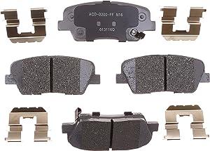 ACDelco 14D1439CH Advantage Front Disc Brake Pad Set