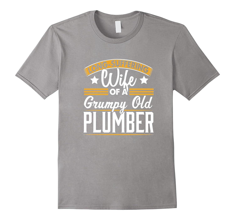 Plumber - Long Suffering Wife T-Shirt-Vaci